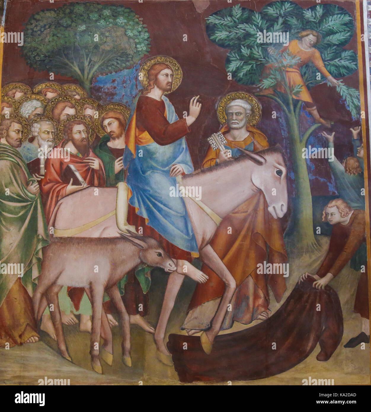 Exegese in jerusalem jesu einzug Was ist
