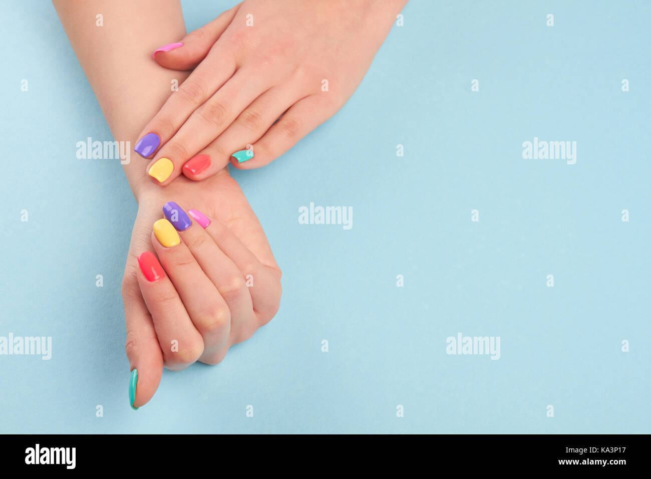 nagellack bei kurzen nägeln