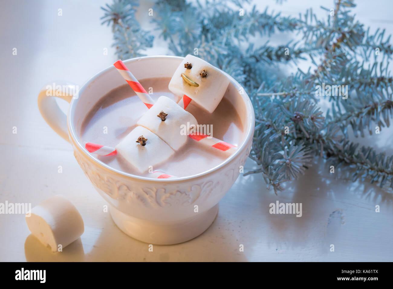 nahaufnahme der lustige schneemann f r weihnachten in. Black Bedroom Furniture Sets. Home Design Ideas