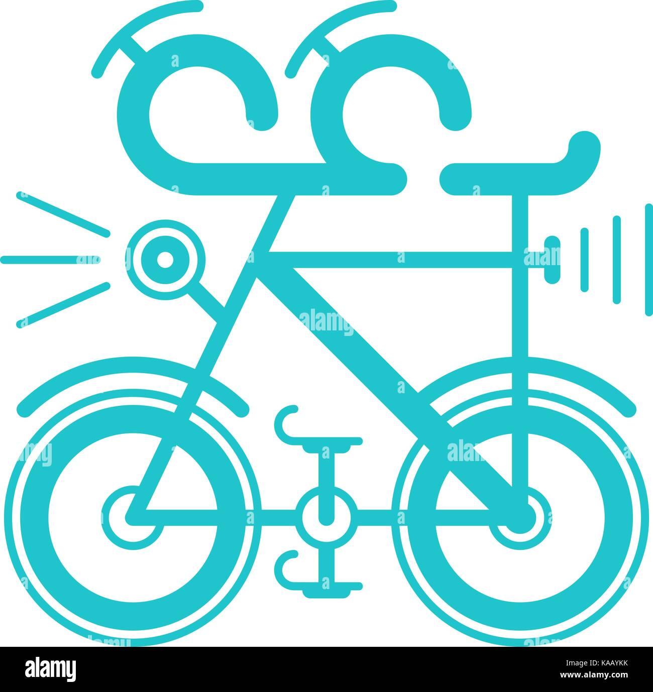 Es in allen ihren Designs verwenden. Eine Farbe Fahrrad Symbol im ...