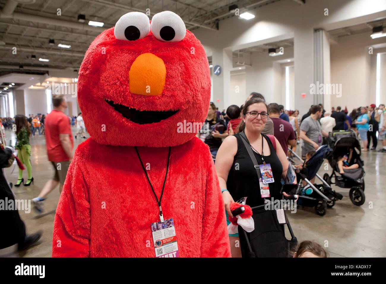Cosplayer im Awesome Con 2017 - Washington, DC, USA Stockbild