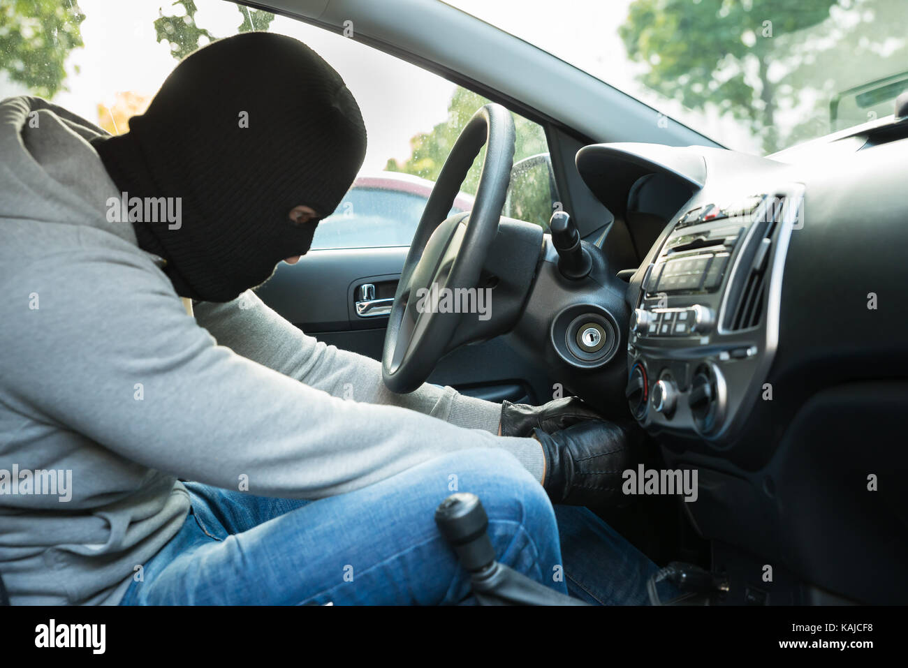 car lock steering stockfotos car lock steering bilder alamy. Black Bedroom Furniture Sets. Home Design Ideas