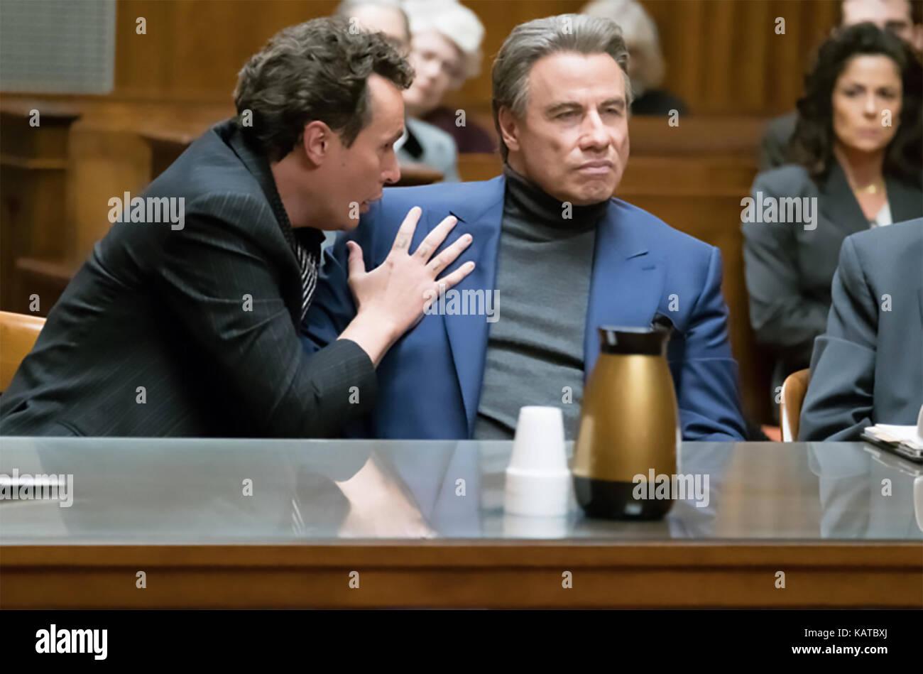 GOTTI 2017 Lionsgate Premiere Film mit John Travolta Stockbild