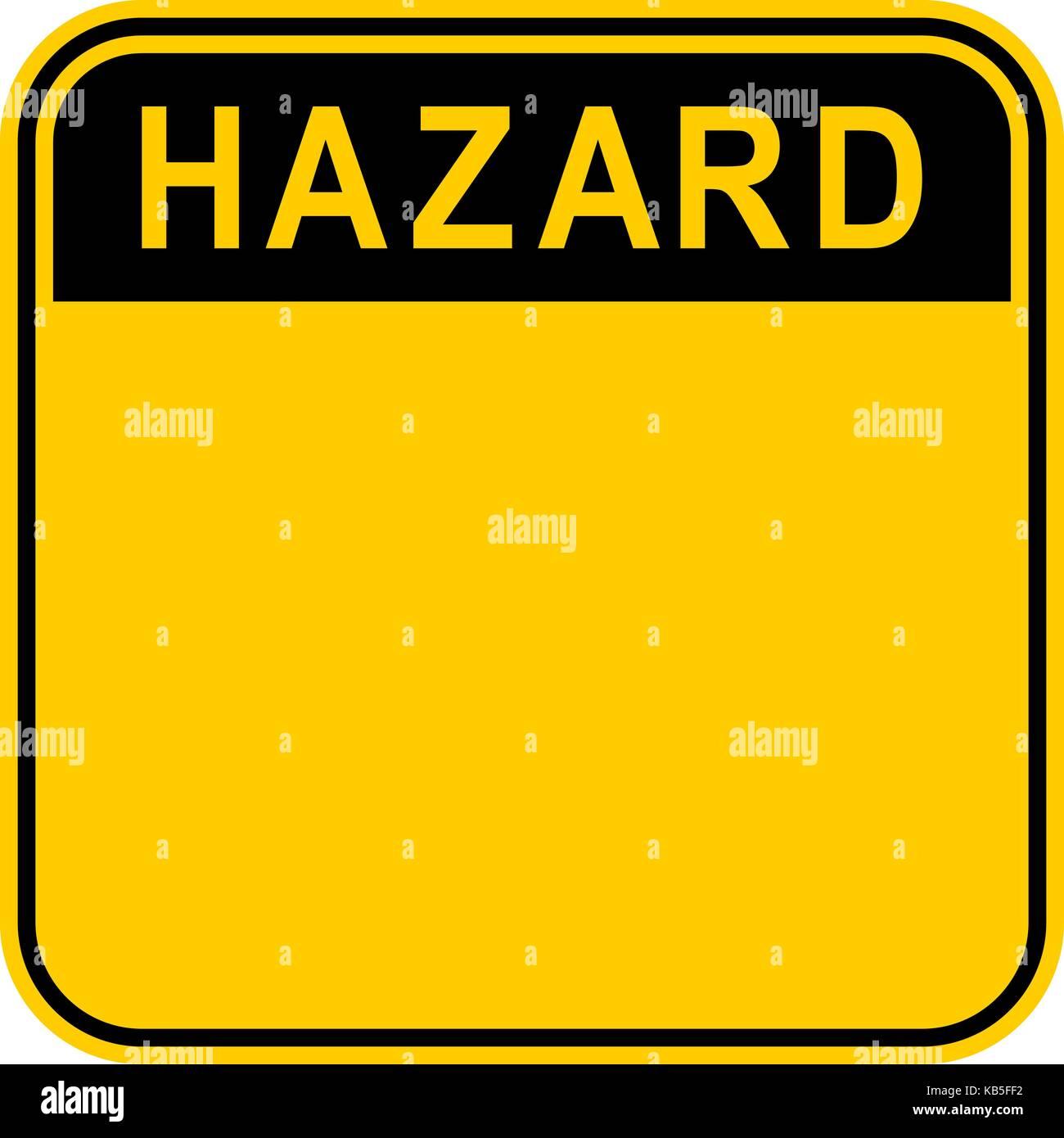 Es in allen ihren Designs verwenden. Leere Sicherheit Schild mit dem ...