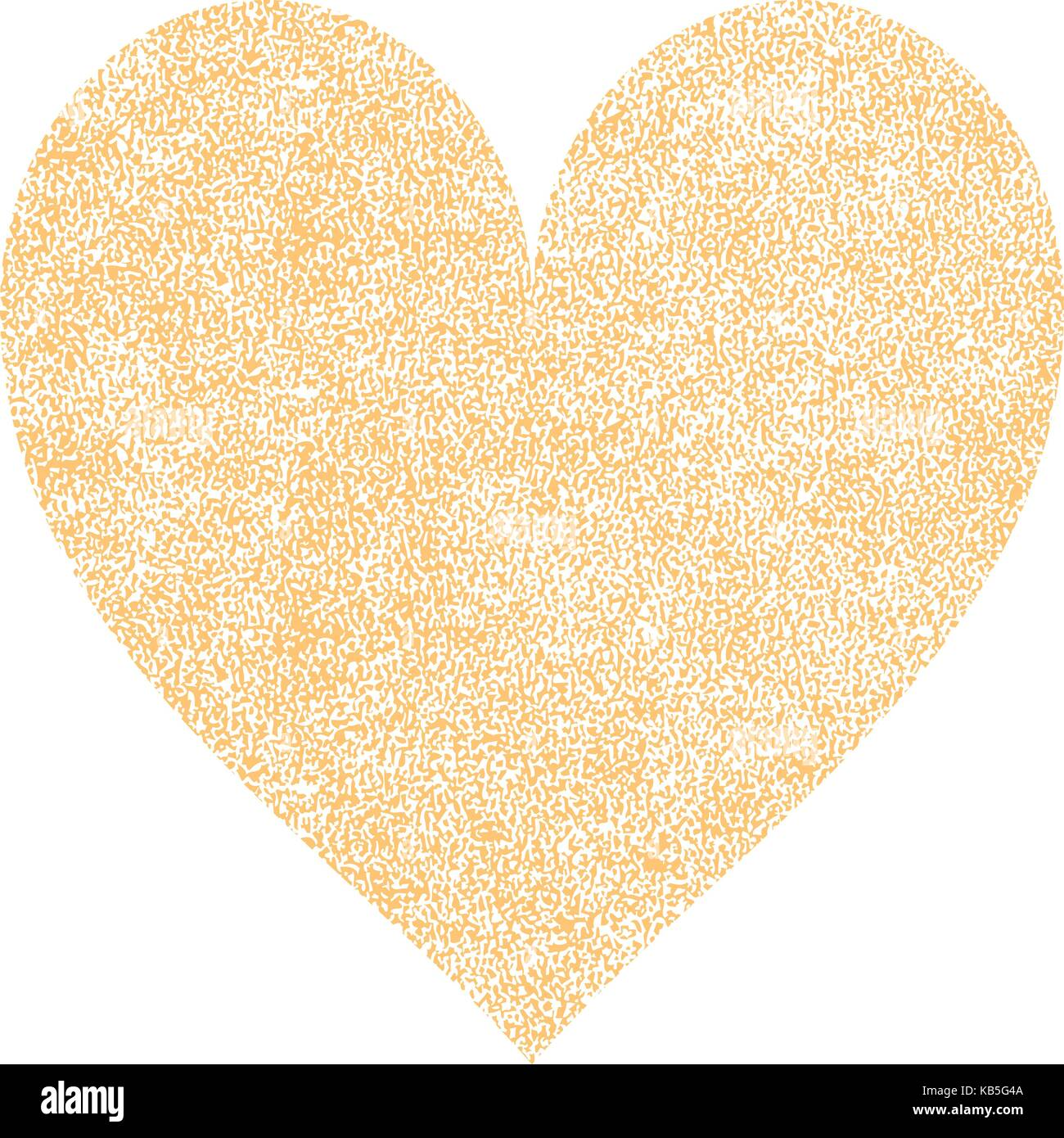 Es in allen ihren Designs verwenden. Gelb Herz mit Wirkung Farbe ...
