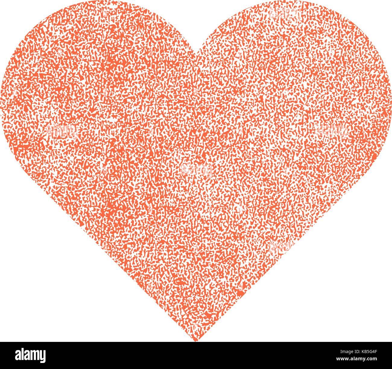 Es in allen ihren Designs verwenden. Rotes Herz mit Wirkung Farbe ...