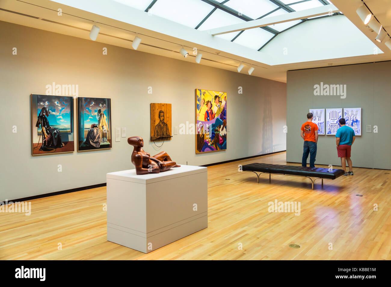 Norfolk Virginia Chrysler Museum der kunst Moderne zeitgenössische ...