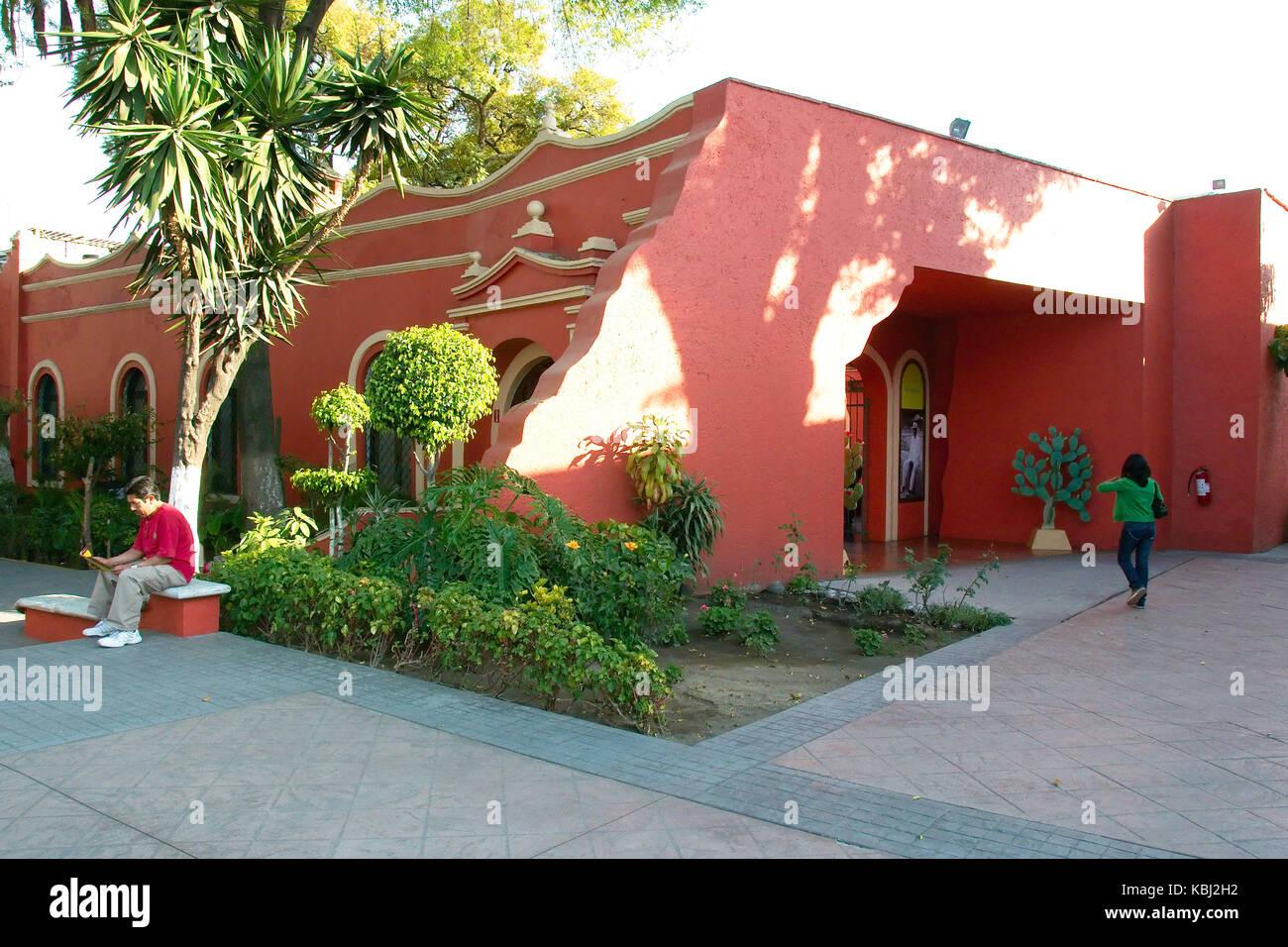 Coyoacan, Mexiko City, Mexiko - 2017: Museo Nacional de las Culturas Populares (Nationalmuseum der populären Stockbild