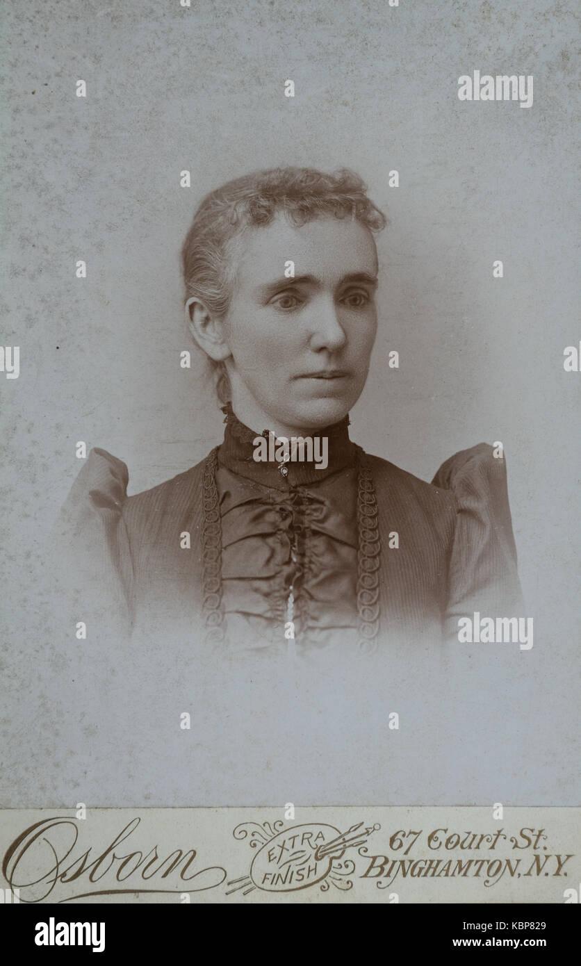 Victorian Cabinet Card Stockfotos & Victorian Cabinet Card Bilder ...