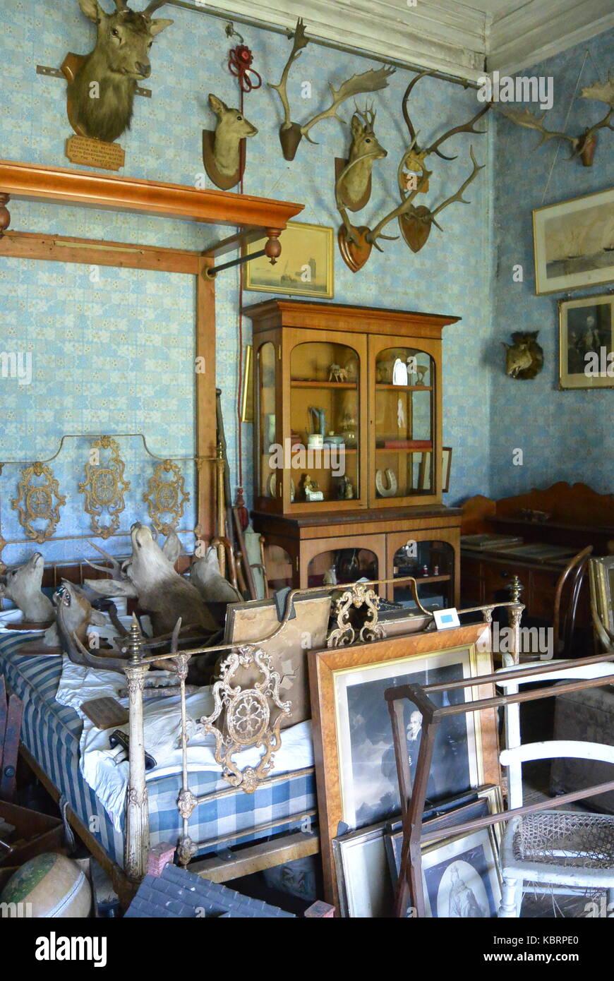 Schlafzimmer In Englisch Herrenhaus Stockfoto Bild 162177064 Alamy