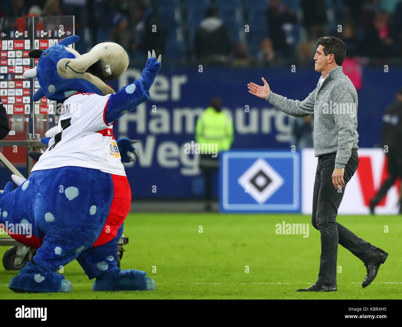 Hamburg Deutschland 30 Sep 2017 Hamburgs Sporting Director Jens