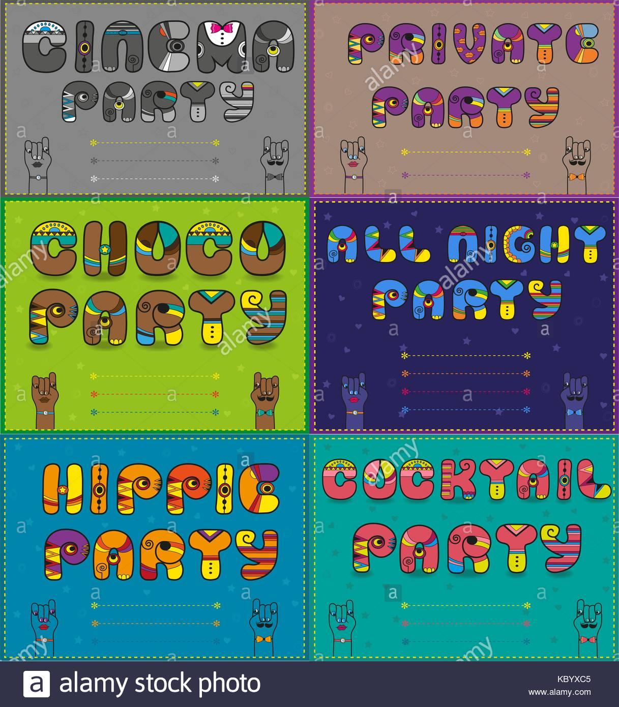 Hippie Party Einladung Vorlagen