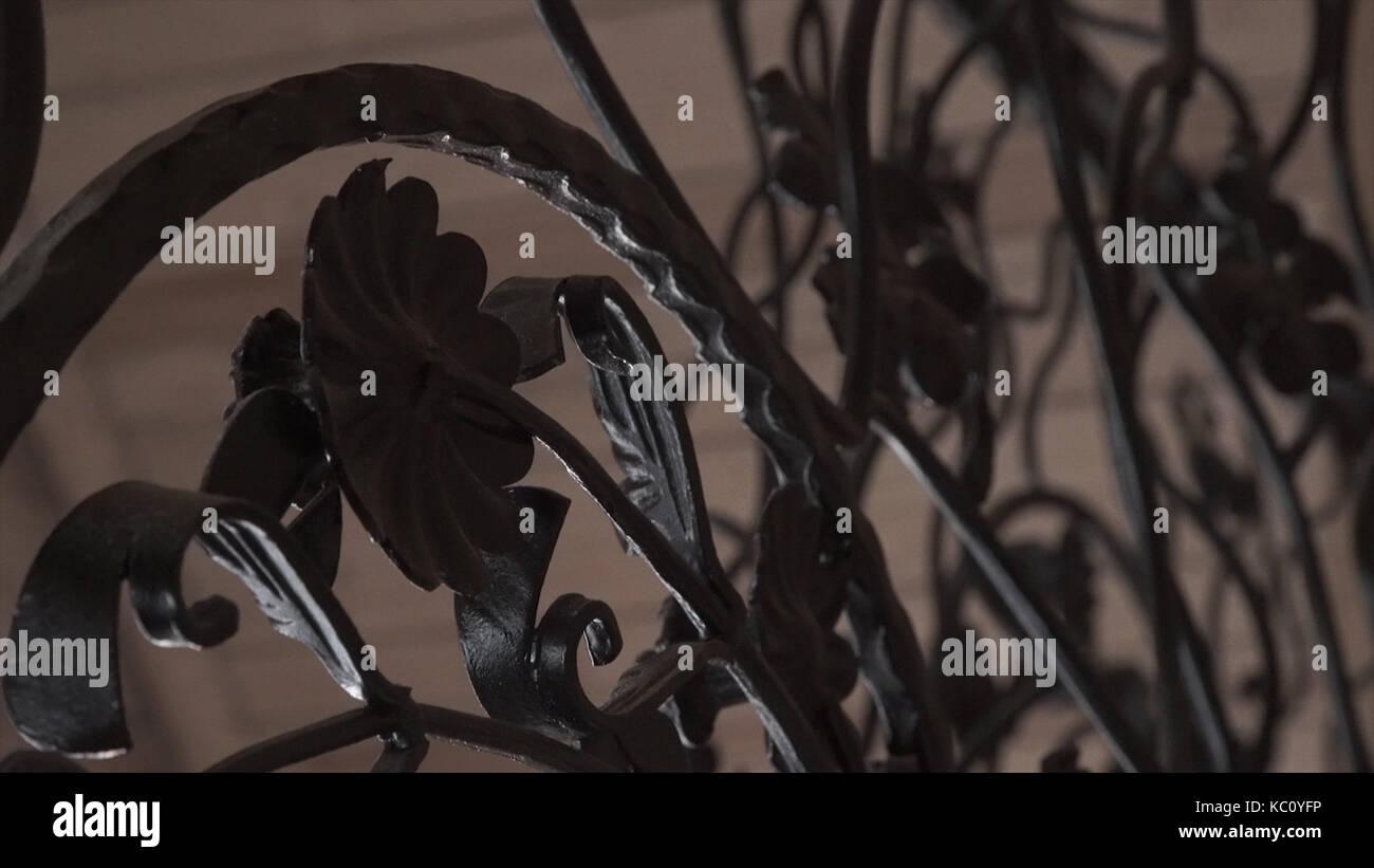 Beeindruckend Zaun Design Dekoration Von Kunst Schmieden Und Eisen Zaun. Grobe Metall