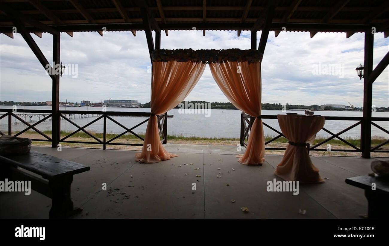 Hochzeit Dekoration Arch Kafig Setup Hochzeit Am Strand Hochzeit