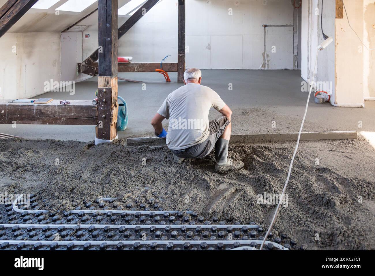 Fußboden Teppich Terbaik ~ Estrichaufbau bei fußbodenheizung estrichaufbau fußbodenheizung