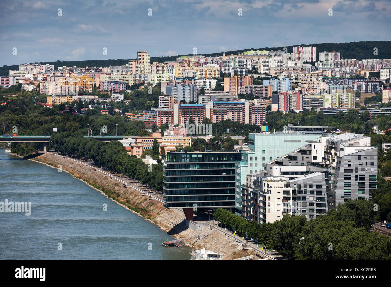 apartment houses block bratislava stockfotos apartment houses block bratislava bilder alamy. Black Bedroom Furniture Sets. Home Design Ideas