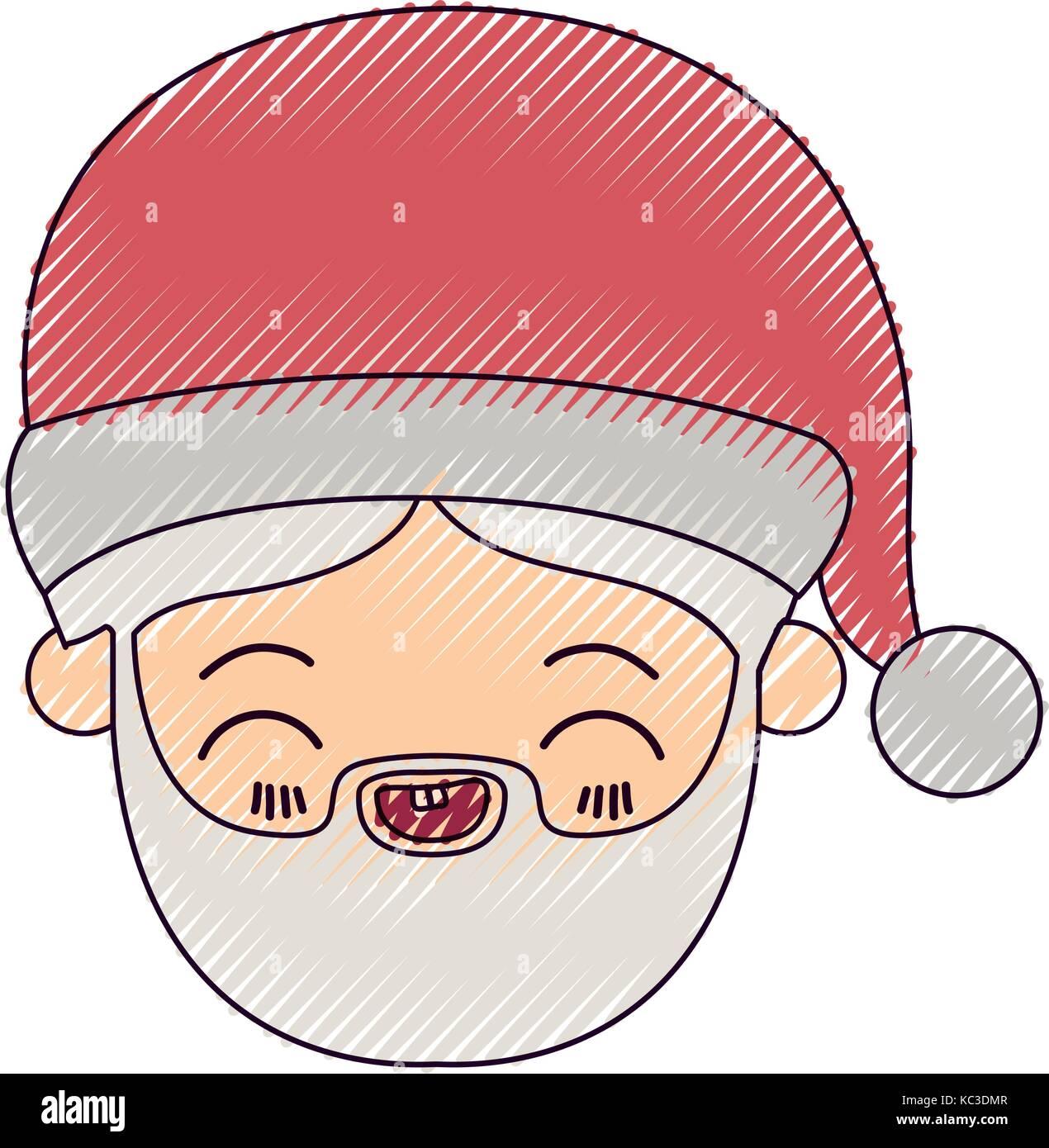 Schön Santa Gesicht Färbung Seite Ideen - Beispiel Business ...
