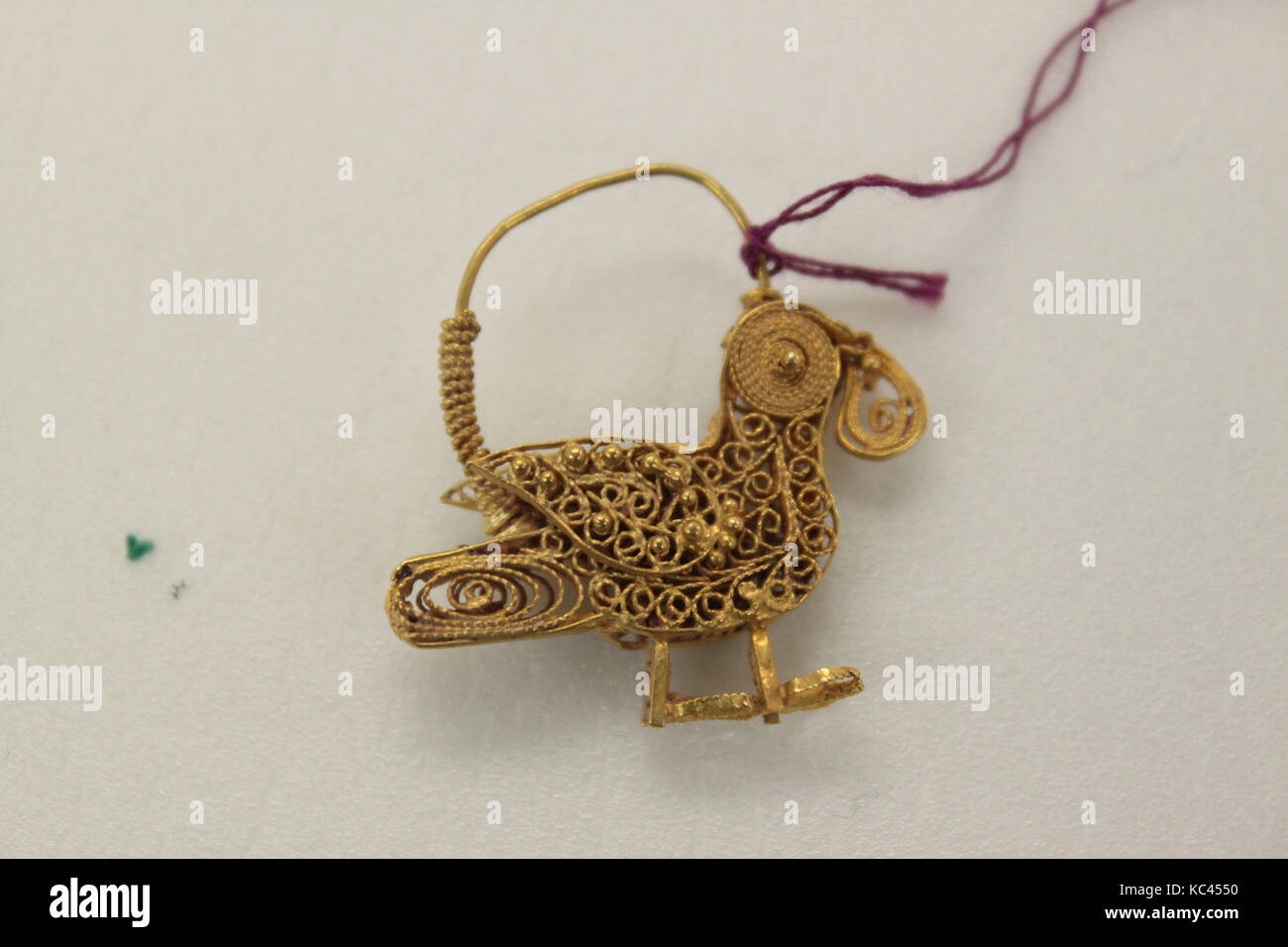 Ohrring, 11. - 12. Jahrhundert ausgegraben, gefunden/Iran, rayy ...