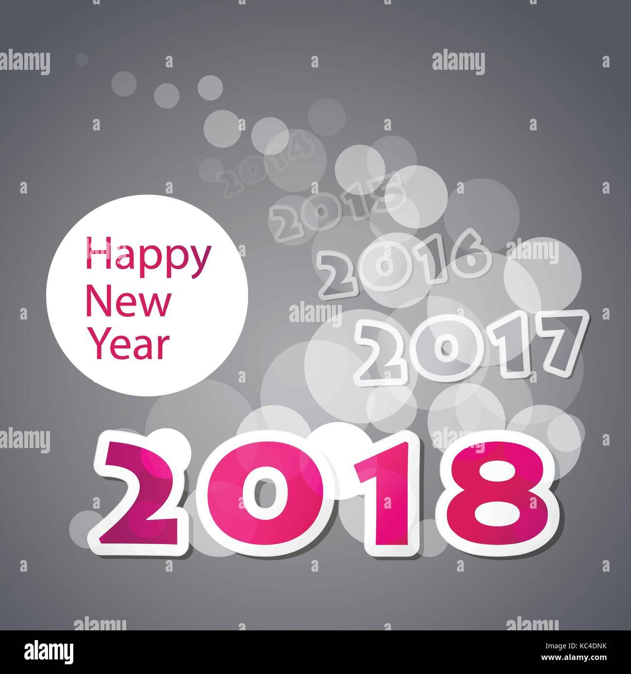 Die besten Wünsche - Neues Jahr Karte, Brief oder Hintergrund Design ...