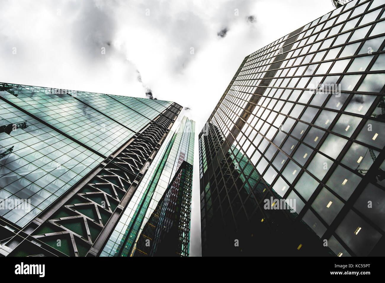 Leadenhall Market Building, City of London, London, England, Vereinigtes Königreich Stockbild