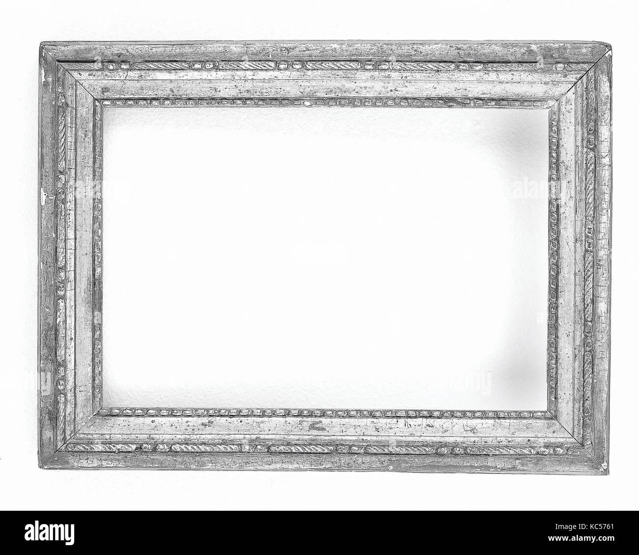 Cassetta frame, 1780-90, im Stil Louis XVI, Südfrankreich, Kiefer ...