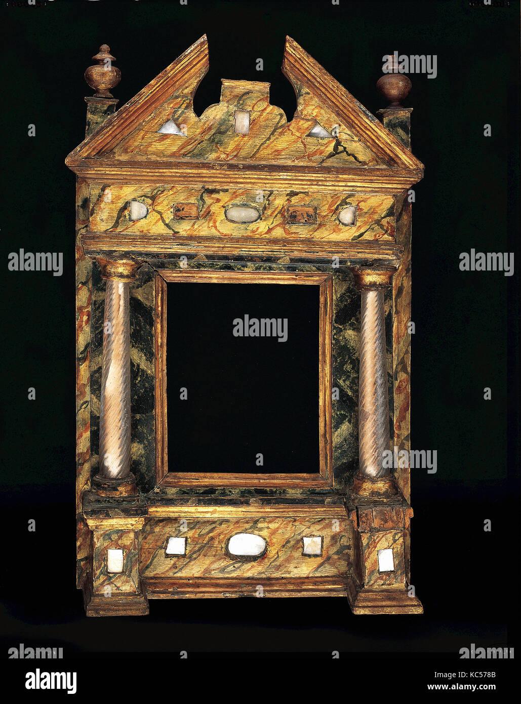 Wohnung Rahmen, Anfang des 17. Jahrhunderts, Italienisch, Venedig ...