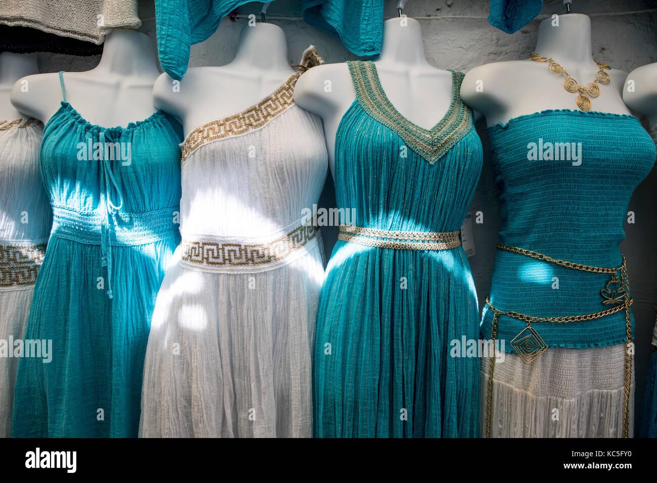 Griechische Kleider Stockfotos und -bilder Kaufen - Alamy