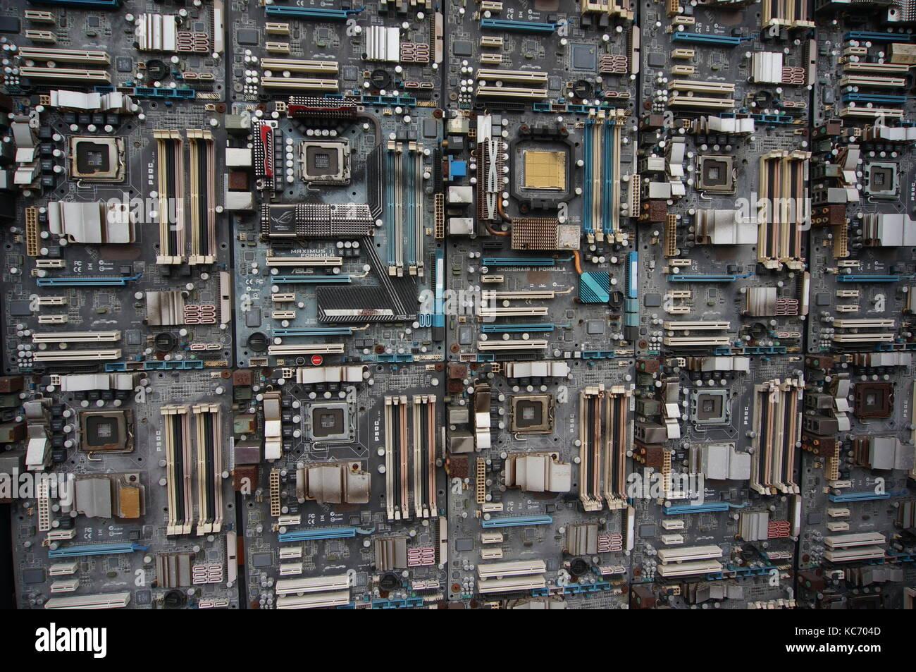 Alte Leiterplatten Stockfoto, Bild: 162422973 - Alamy