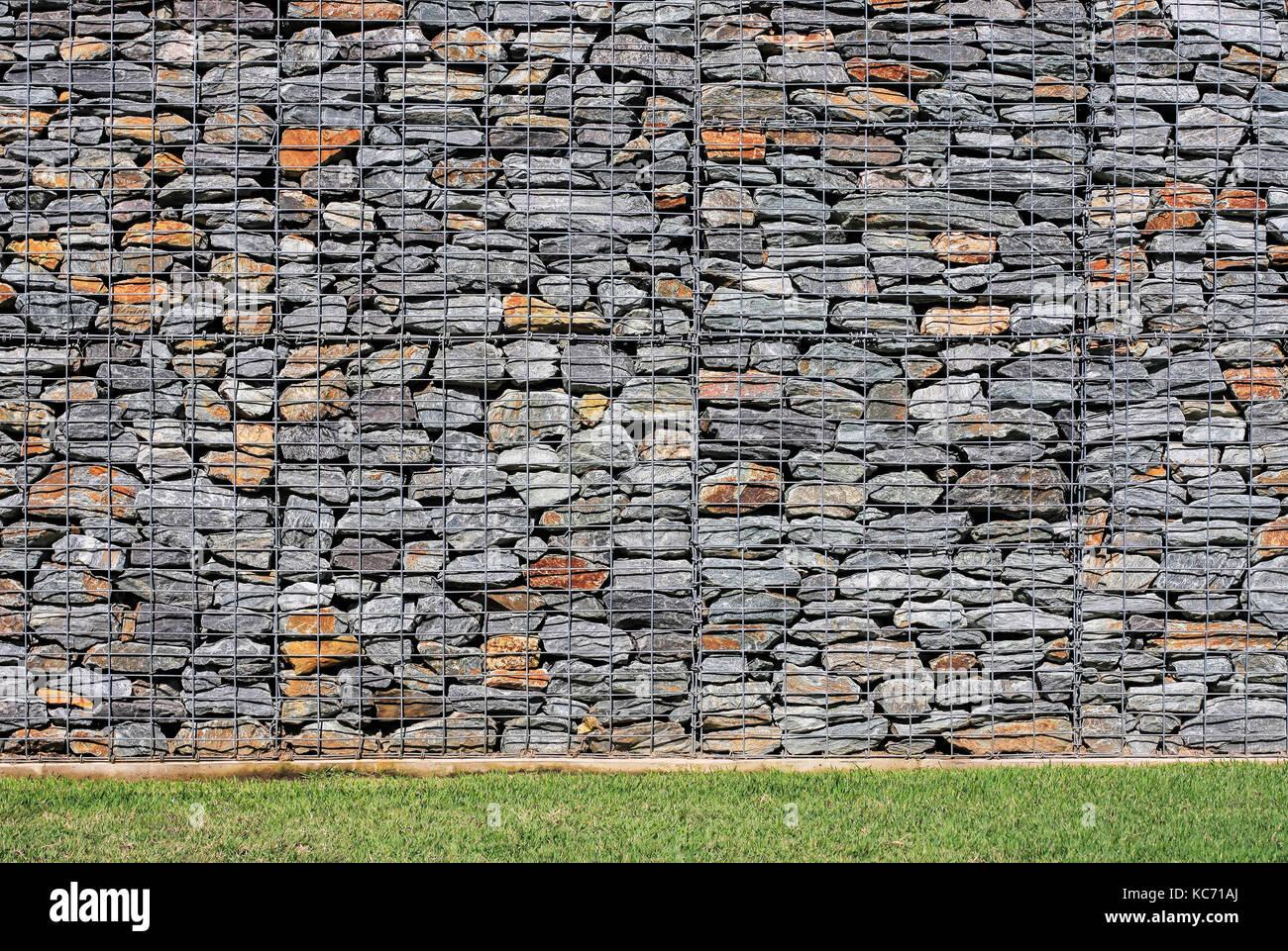 Gabionen Stutzmauer Selber Bauen Gabionen Steinmauern Ohne Versatz