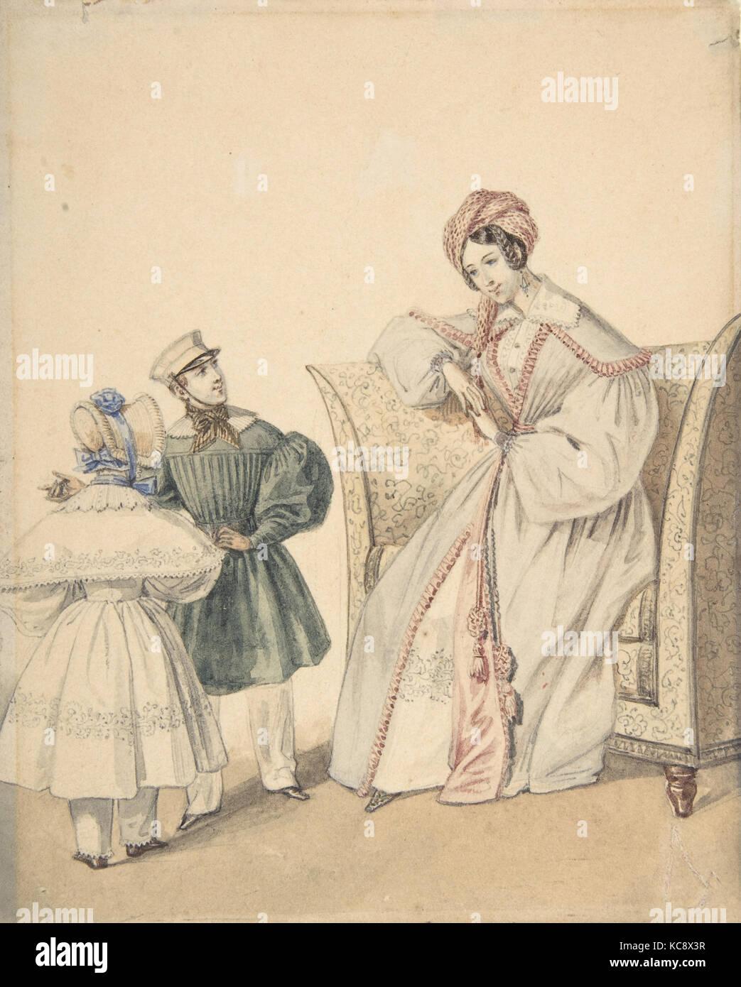Mode Zeichnen Mit Eine Frau Sitzt Auf Einem Stuhl Mit Ein Junge Und