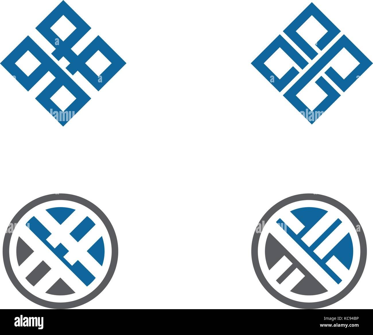 Logo Vector Template Corporate Media Stockfotos & Logo Vector ...