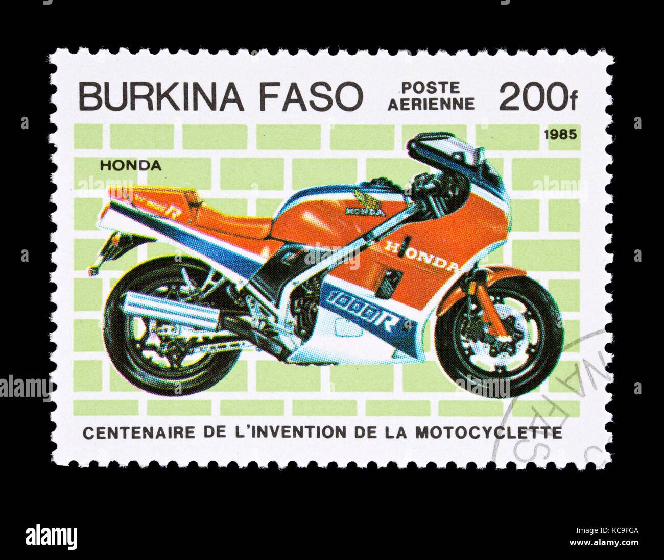 Briefmarken Aus Burkina Faso Afrika