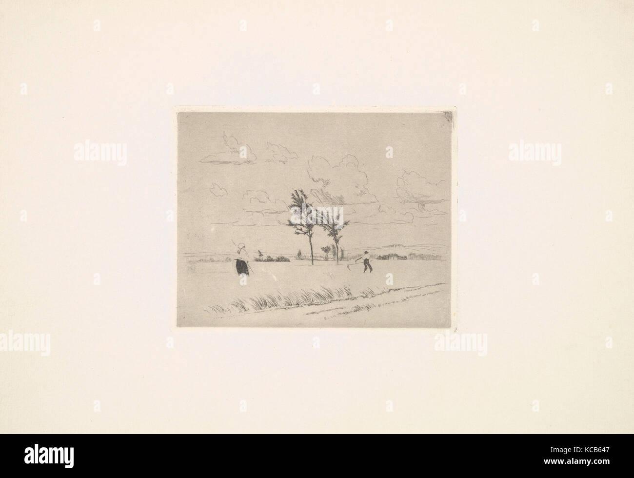 Heuernte 1918 19 ätzen Platte 4 18 X 5 14 Inch 105 X 133 Cm