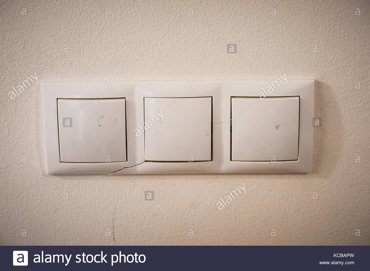 Old Light Switches Stockfotos & Old Light Switches Bilder - Alamy