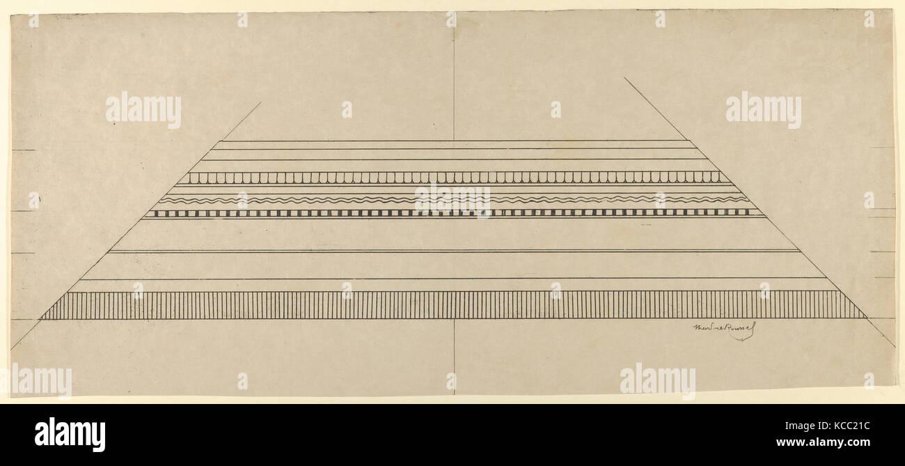 Hirsch und Blumenmuster Rahmen, 1897-99, Ätzen und softground, Blatt: 10 11/16 x 6 13/16-in. (27,1 x 17,3 cm), Stockbild