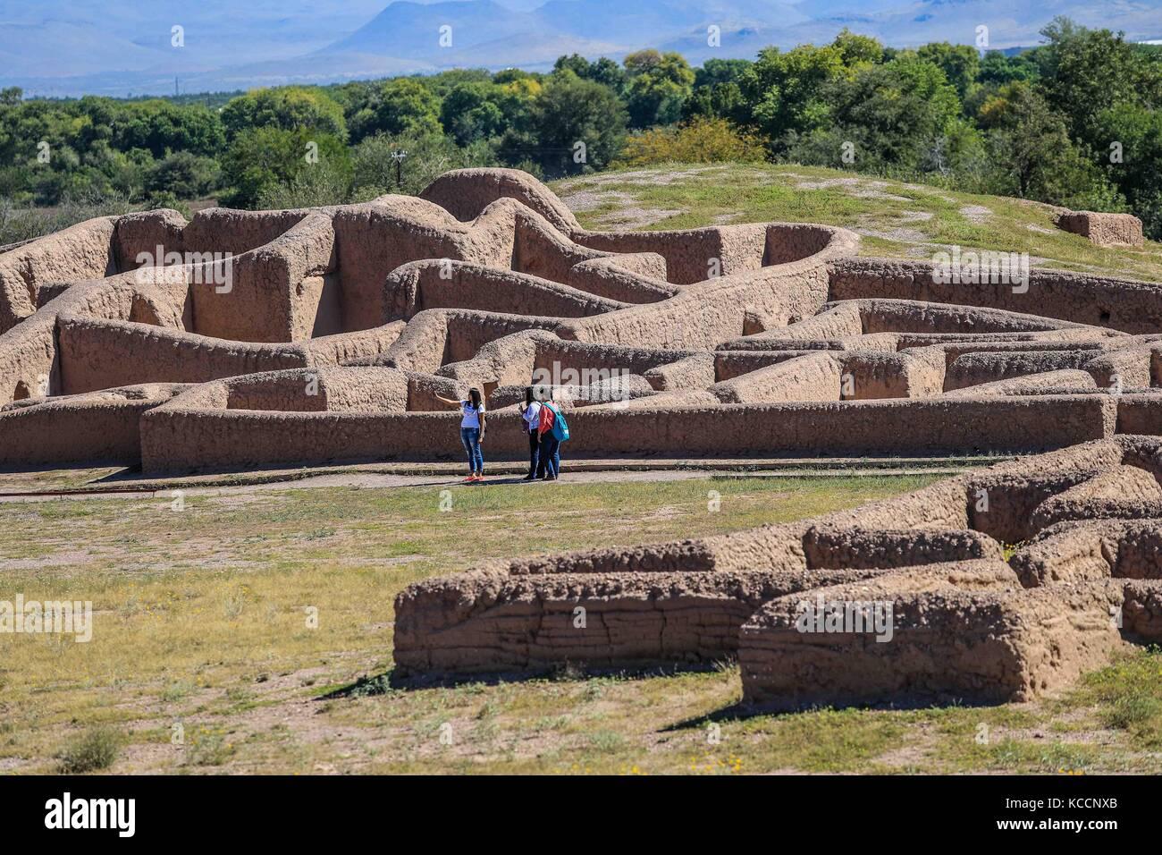 Die Archaologische Statte Von Paquime In Casas Grandes Paquime