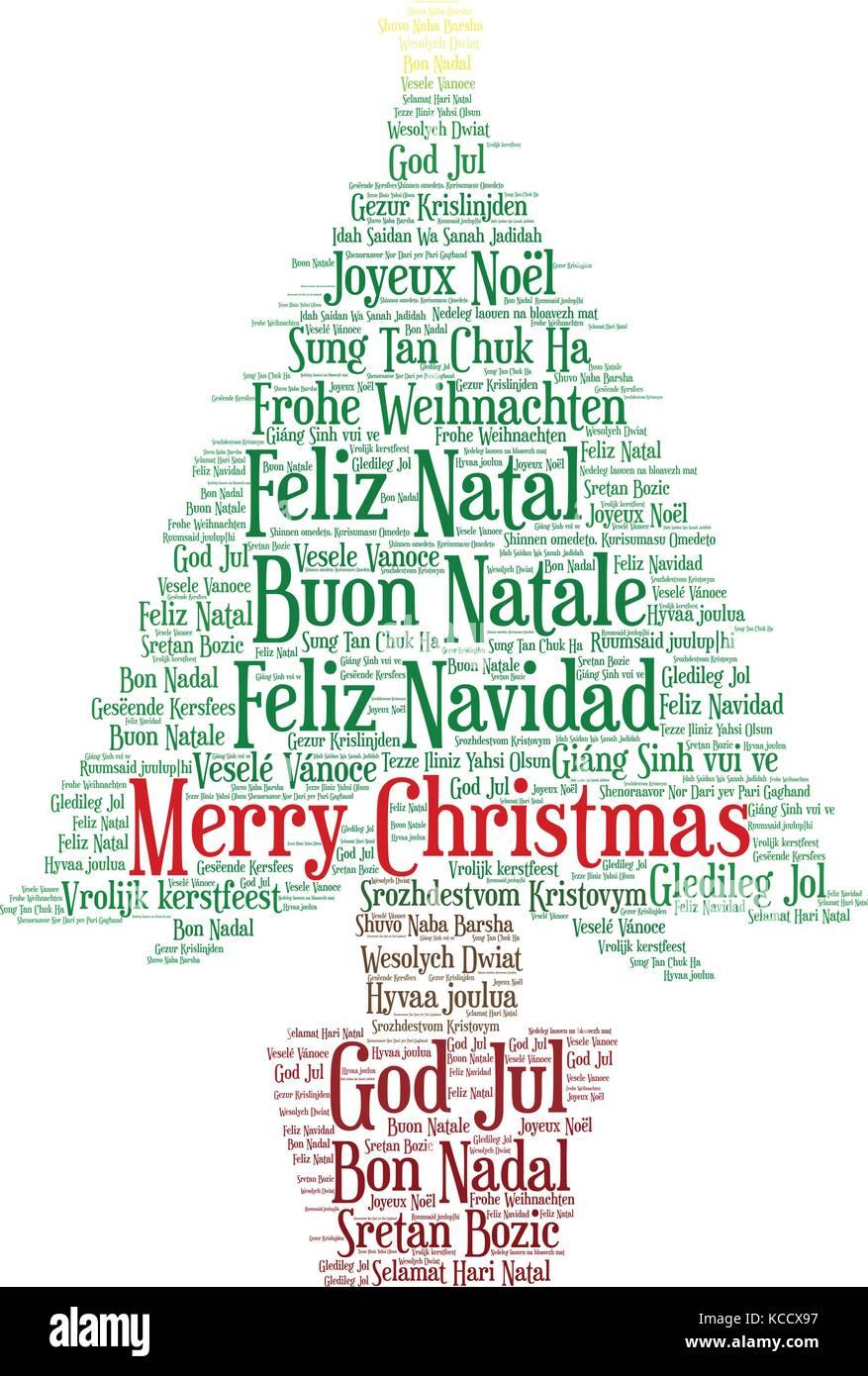Frohe Weihnachten Auf Allen Sprachen.Wort Wolke Frohe Weihnachten In Allen Sprachen Der Welt Mit