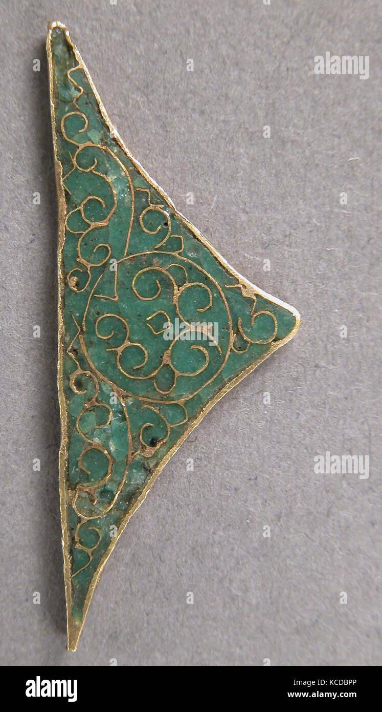 Element eines Symbol Rahmen, 11. Jahrhundert, byzantinische, Emaille ...