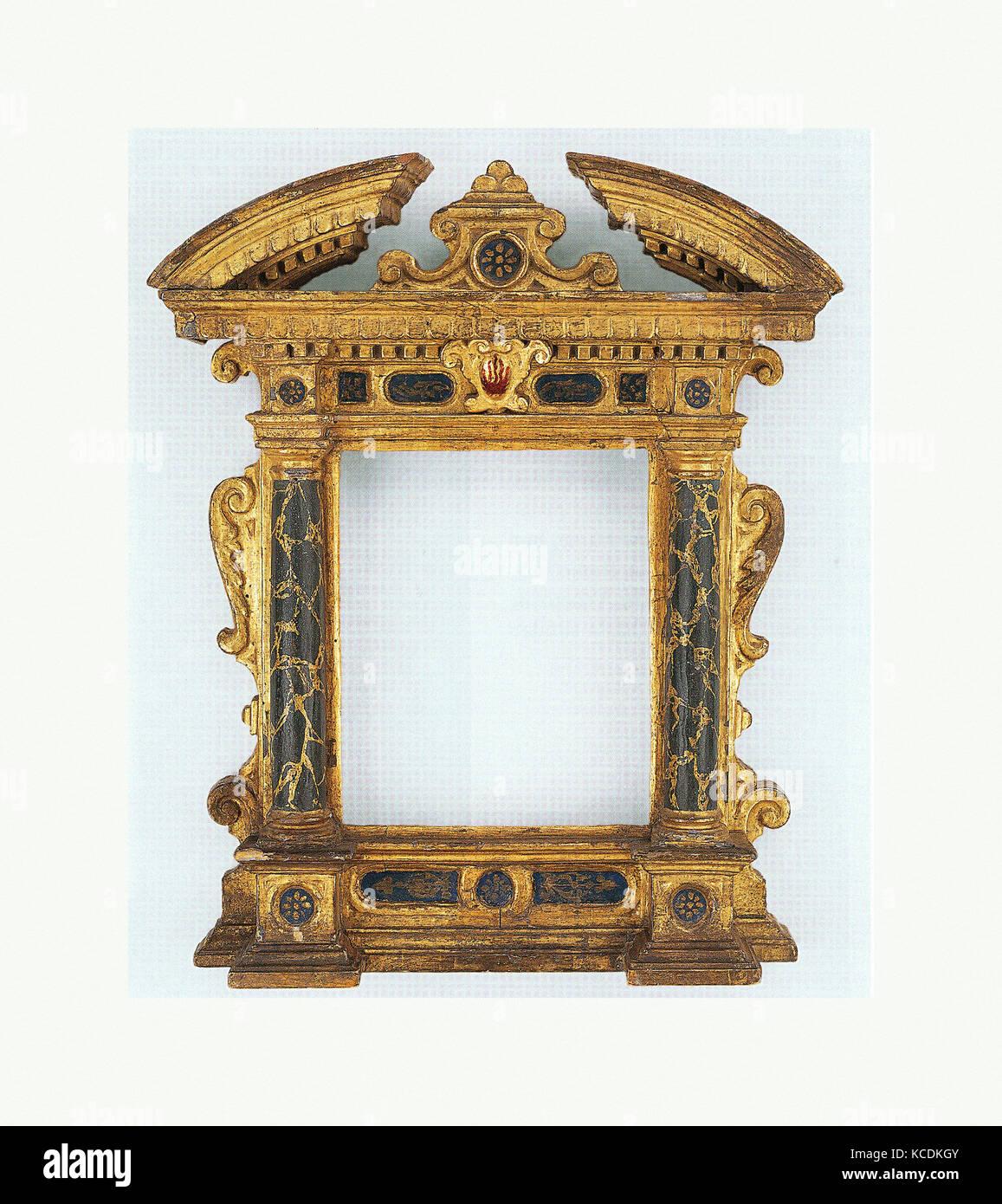 Wohnung Rahmen, Anfang des 17. Jahrhunderts, Italienisch, Märsche ...