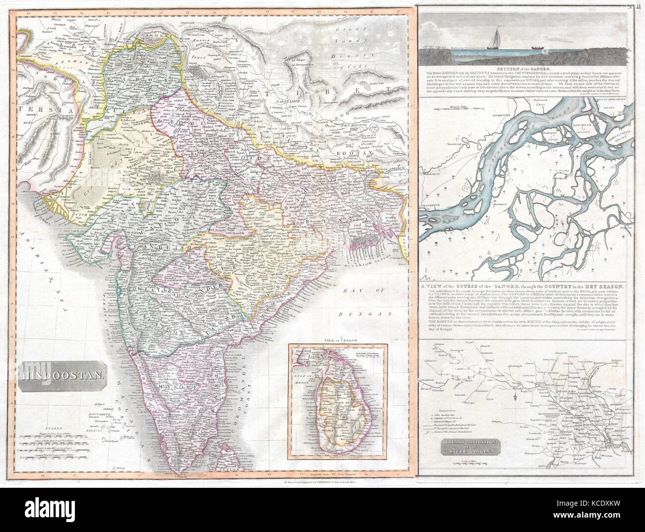 India Map Ganges Stockfotos & India Map Ganges Bilder - Alamy