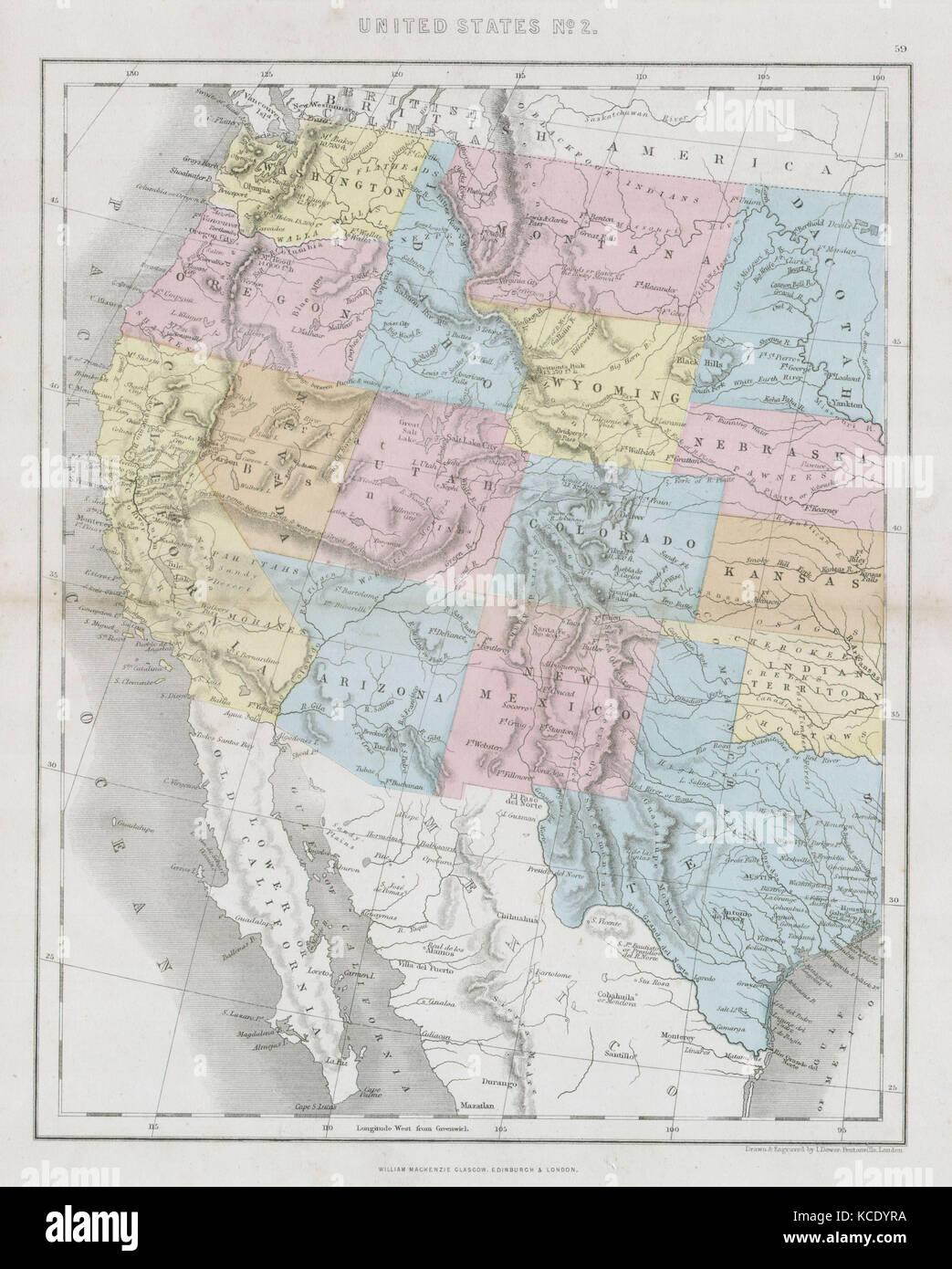 Wunderbar Karte Der Vereinigten Staaten Färbung Seite Zeitgenössisch ...