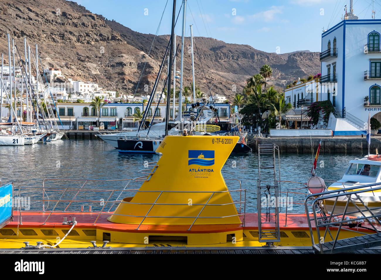 Das schöne Puerto de Mogan auf Gran Canaria, Spanien Stockbild