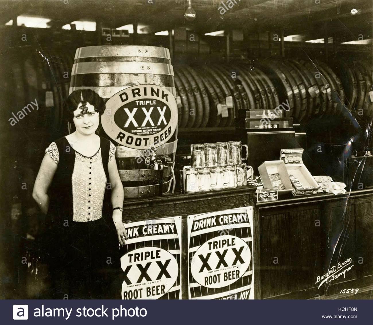 Verbot in den USA vintage Fotografie Stockbild