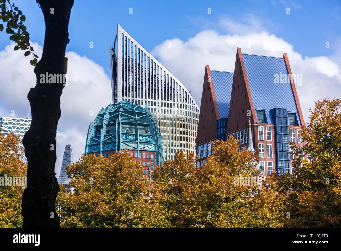 Den haag niederl ndisch holland wohngebiet skyline for Moderne architektur gebaude