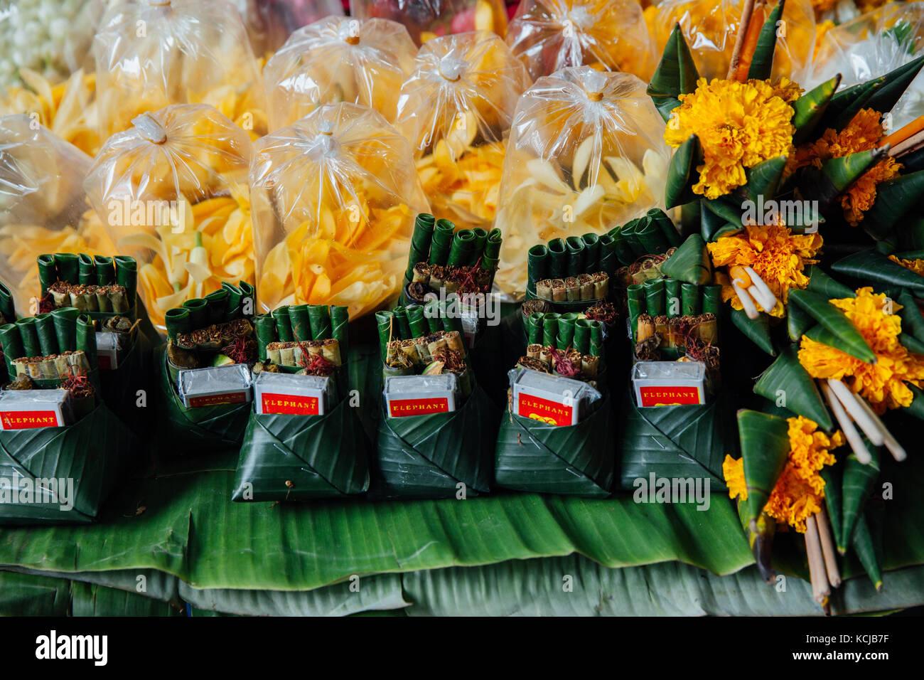 Chiang Mai, Thailand - 27. August 2016: ein Angebot stand beim Warorot Market am 27. August 2016 in Chiang Mai, Stockbild