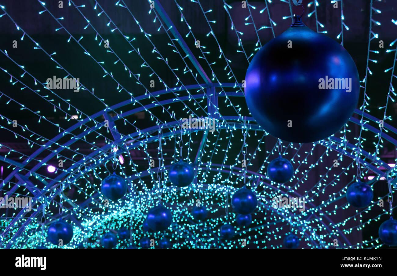 Led Weihnachten.Bunte Weihnachten Dekoration Vieler Led Licht Dekorative