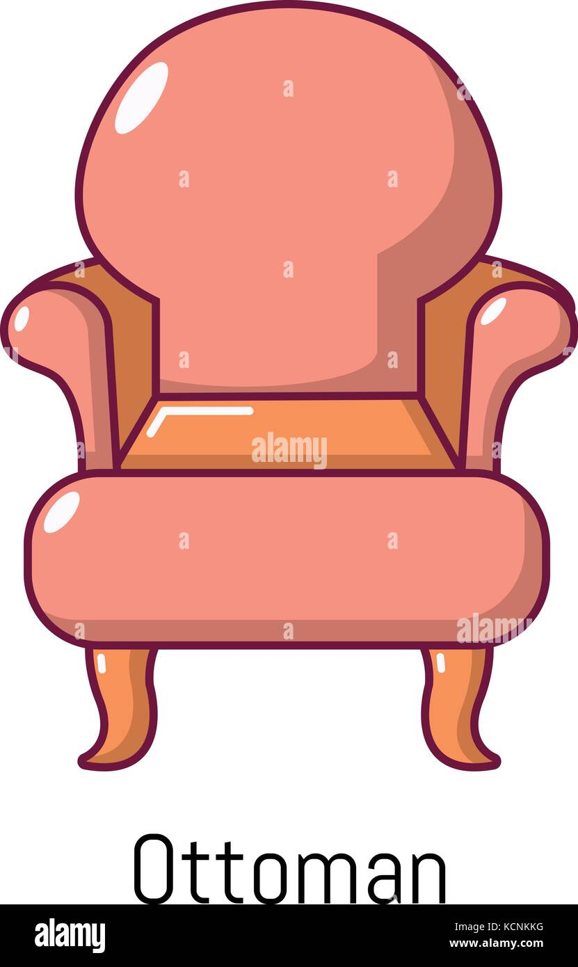 vintage sessel symbol cartoon stil vektor abbildung bild 162745620 alamy. Black Bedroom Furniture Sets. Home Design Ideas