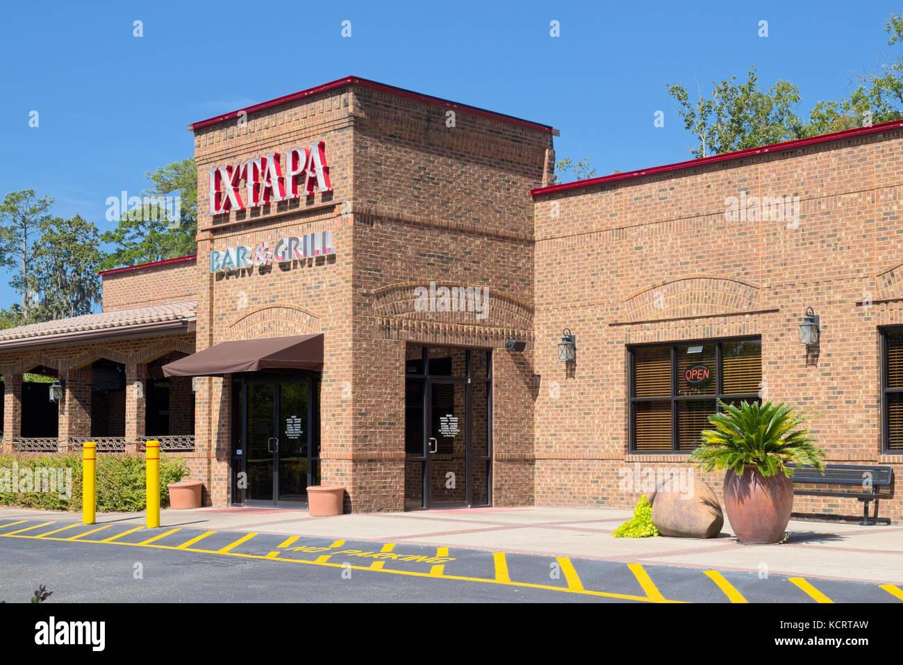 Haupteingang des beliebten Ixtapa mexikanische Restaurant in Montgomery, Alabama, USA. Stockbild