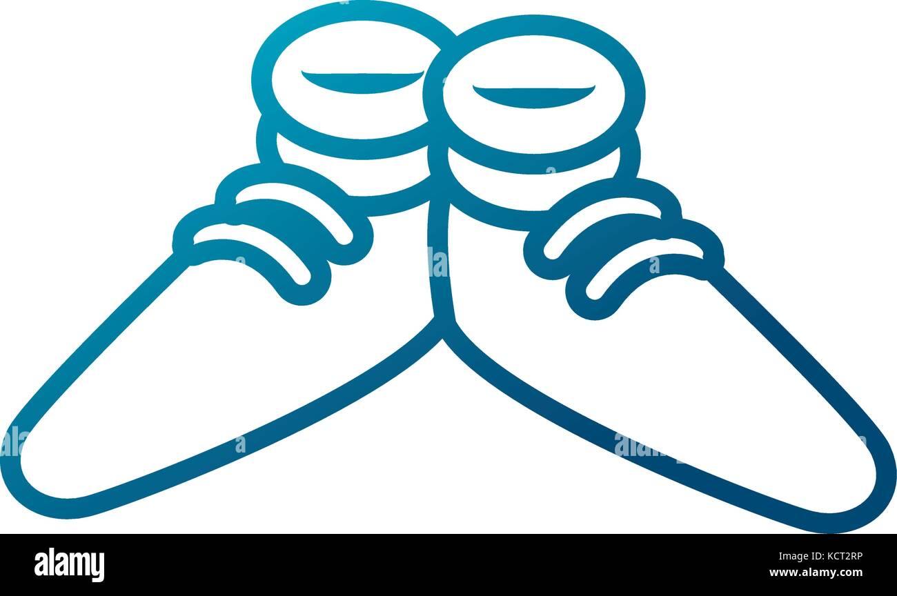 Lustige Schuhe Cartoon Vektor Abbildung Bild 162798266 Alamy