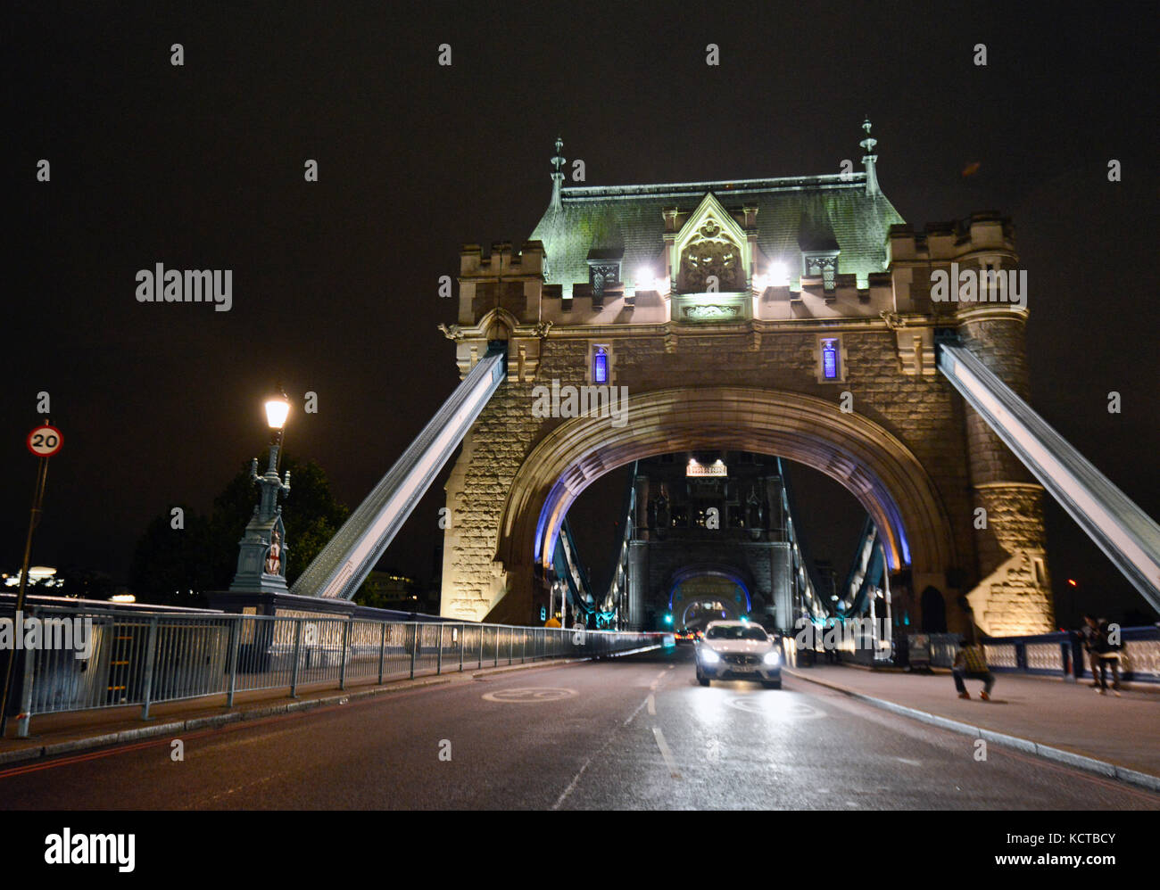 Tower Bridge, London Stockbild